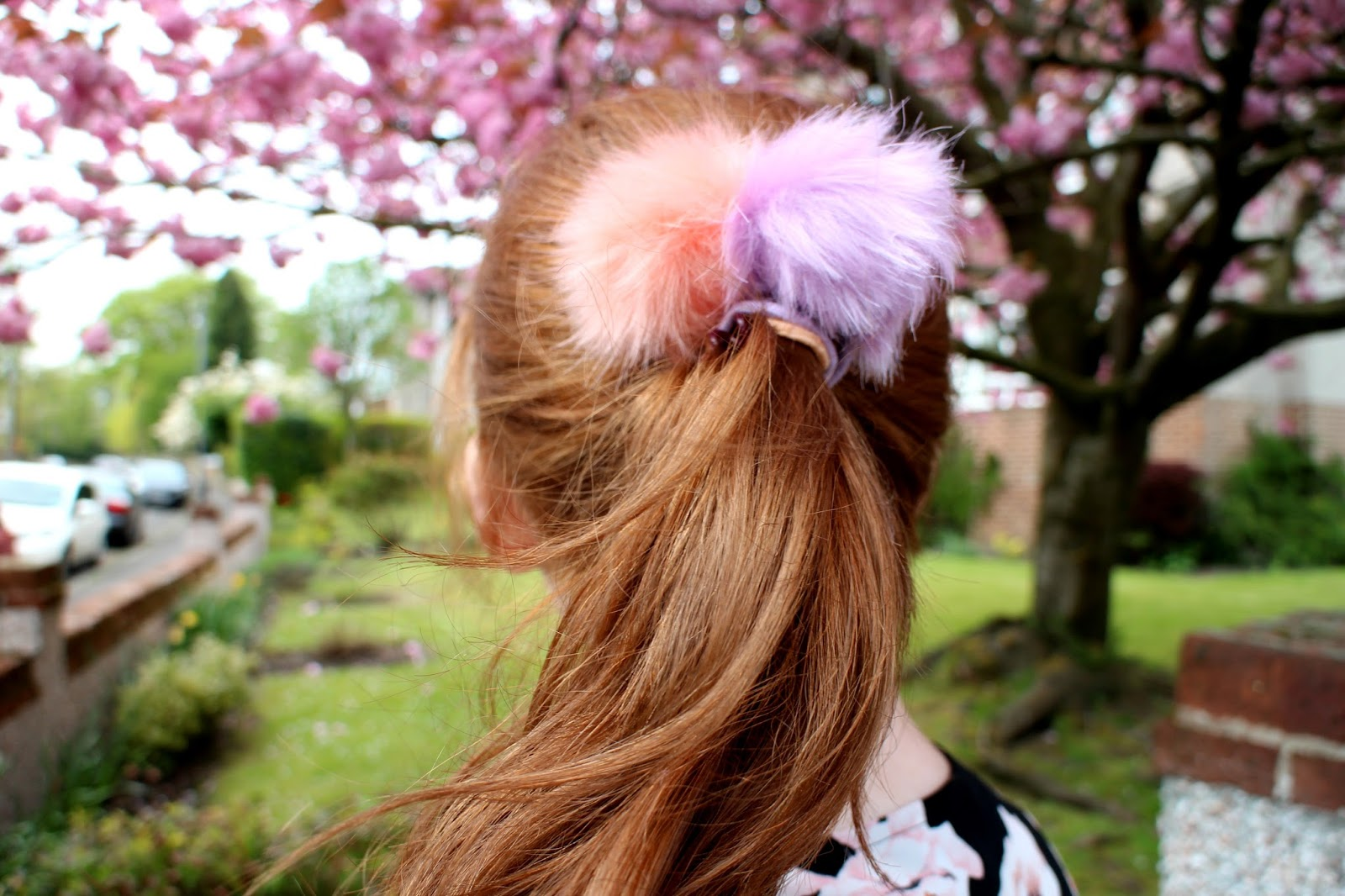Pom pom hair bands