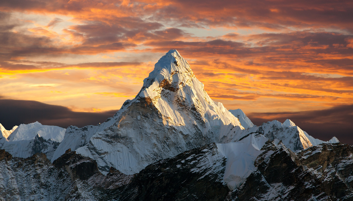 Monte Everest no Nepal