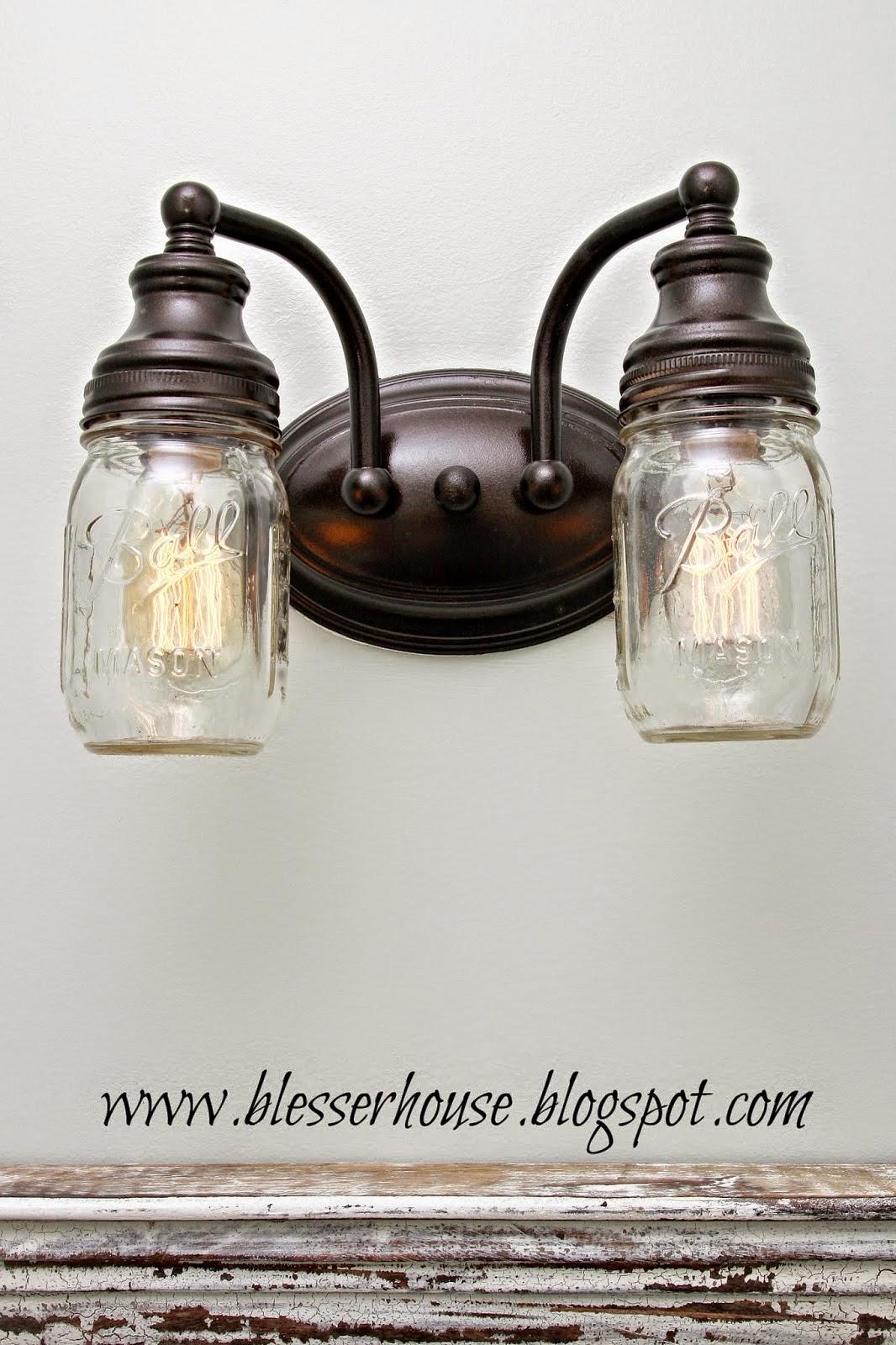 Making Lights Out Mason Jars