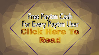 free Paytm Cash Offer By OfferLoot