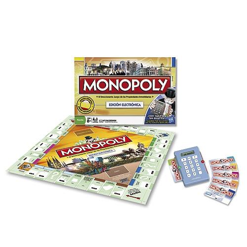 Monopoly Electronico Juegos De Mesa Y De Tablero