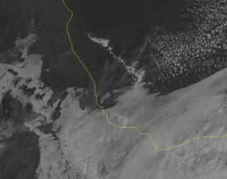 Disminucion de lluvias y lloviznas, ambiente fresco Estado Veracruz