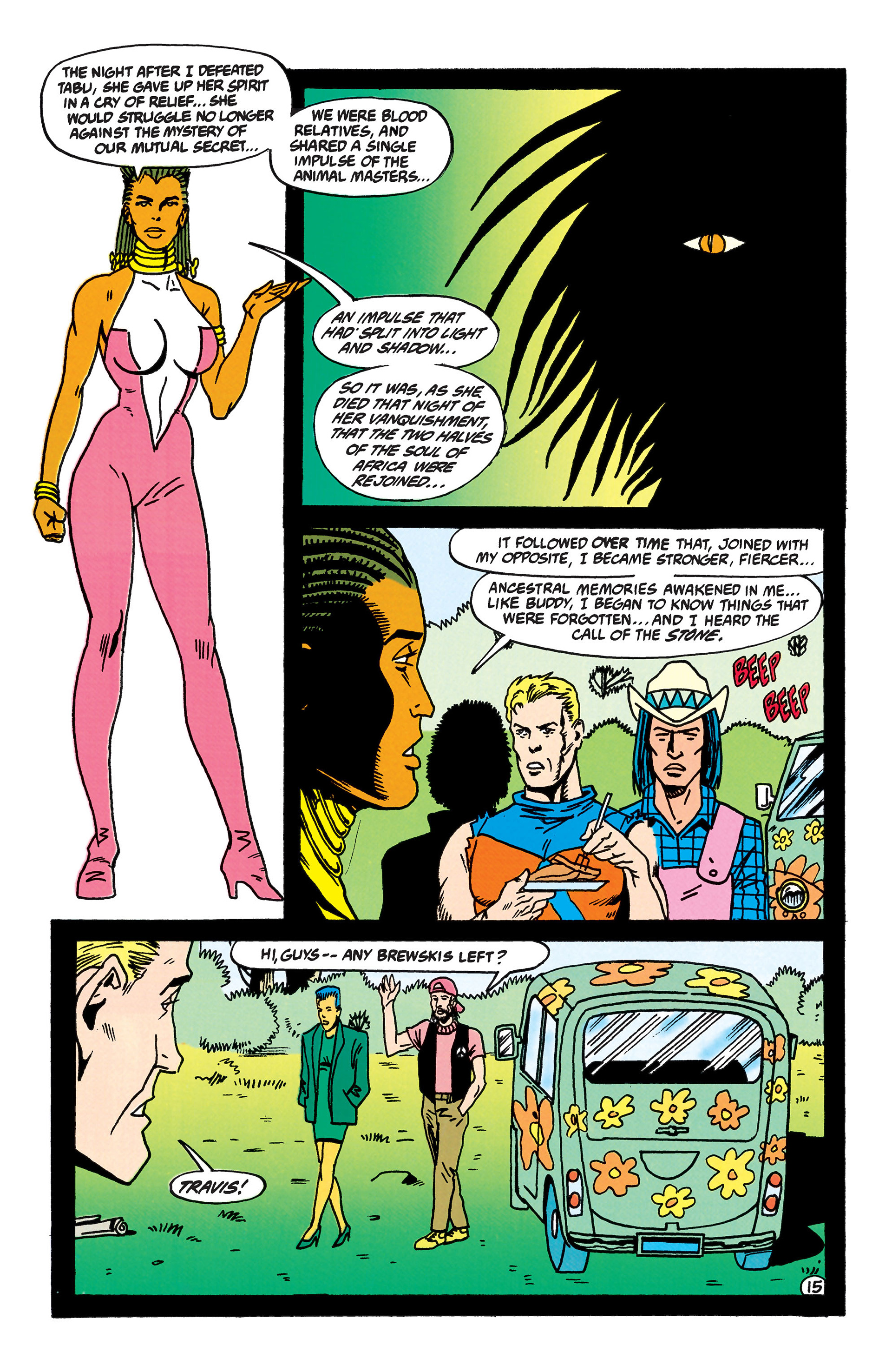 Read online Animal Man (1988) comic -  Issue #44 - 16
