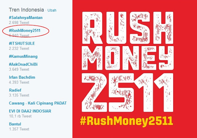 #RushMoney2511