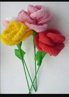 Kreasi Cara Membuat Bunga Dari Kertas Untuk Hiasan Rumah