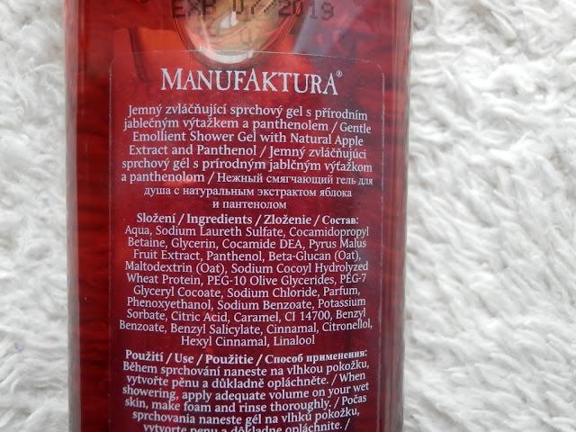 manufaktura blogspot, manufaktura složení