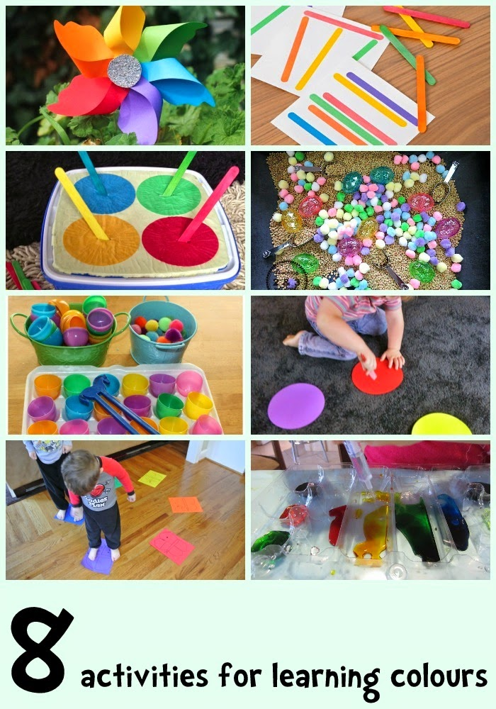 activities for kids at home learn with play at home 8 colour learning activities for 31242