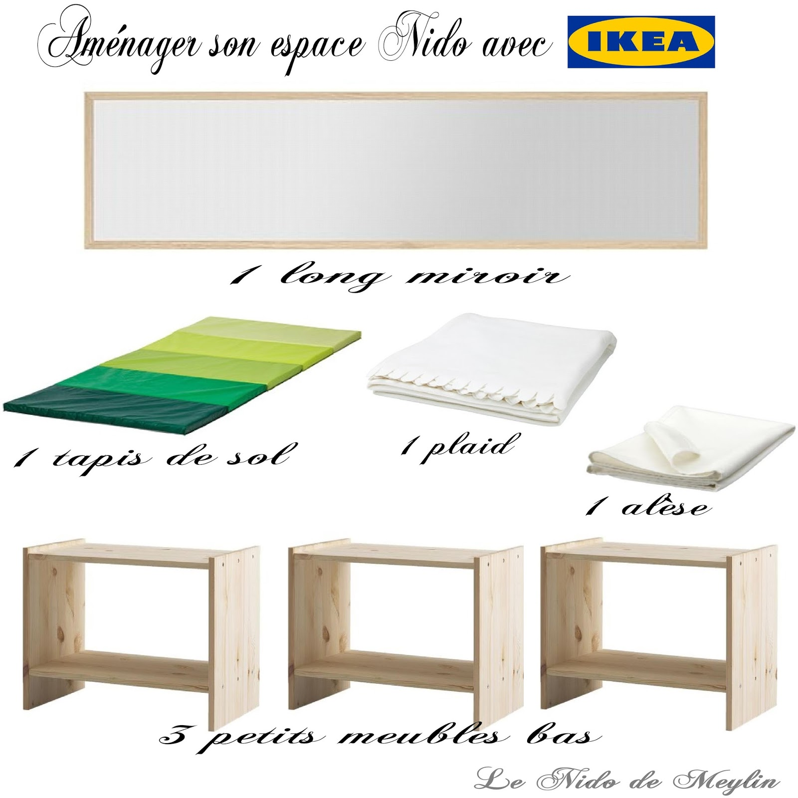 am nager l 39 espace nido moindre co t avec ikea le nido de meylin. Black Bedroom Furniture Sets. Home Design Ideas