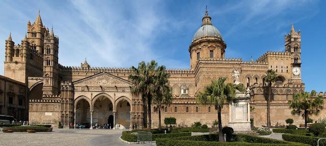 Visita às catedrais de Palermo