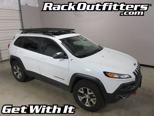 rack outfitters jeep cherokee trailhawk rhino rack pioneer sx platform 39 14 39 16. Black Bedroom Furniture Sets. Home Design Ideas