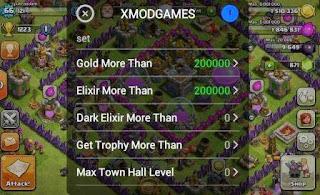 Mendapatkan Gold, Elixir dan Dark elixir di Clash of Clans