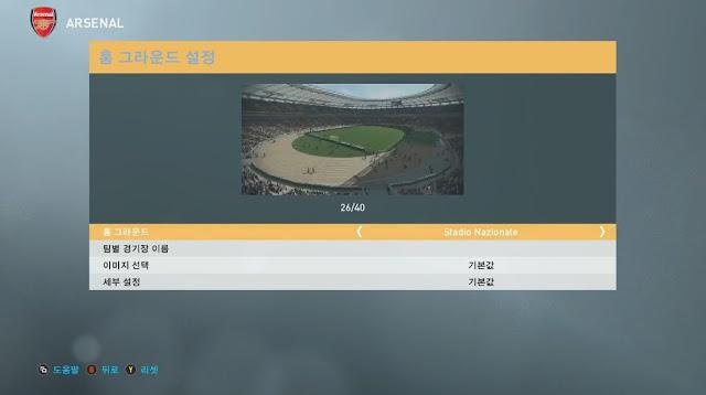 PES 2019 Stadium Unlock Mod dari Digitalfoxx