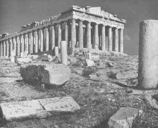 Parthanon, Monumen Hasil Budaya Athena Kuno