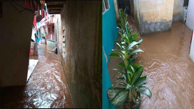 Tak Ada Hujan, Ratusan Rumah di Pondok Pinang Terendam Banjir