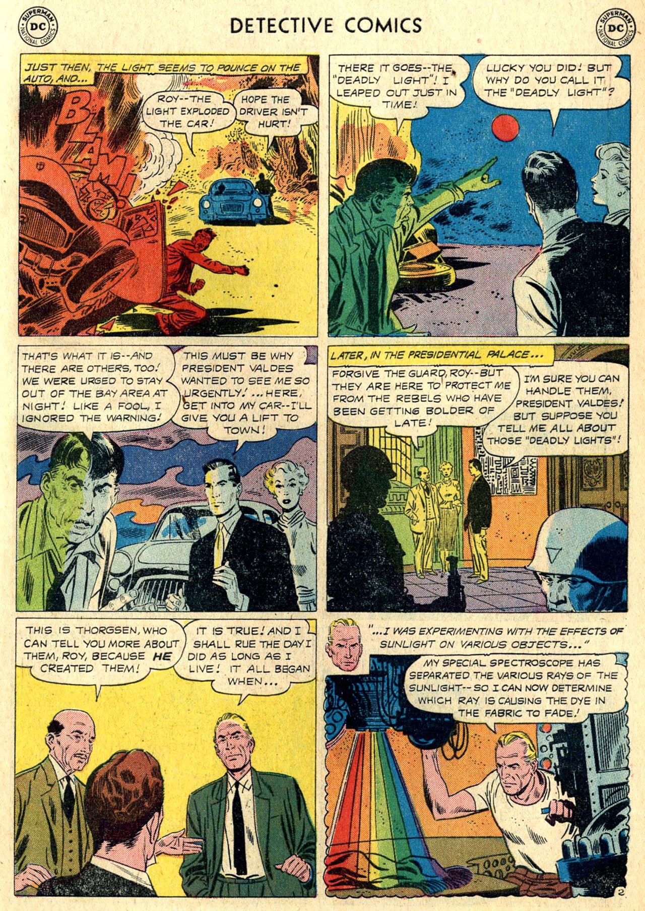 Read online Detective Comics (1937) comic -  Issue #265 - 19