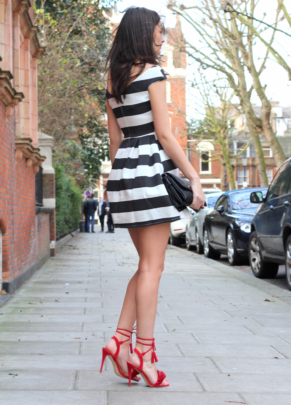 fashion blogger valentine's day outfit