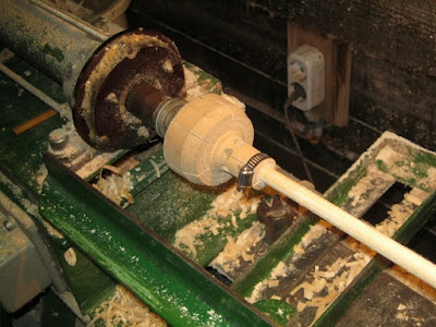 патрон для установки палочки в токарный станок