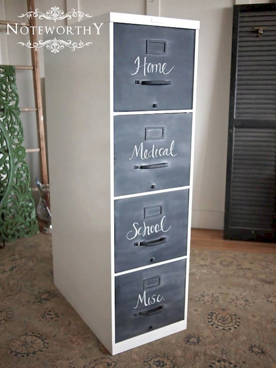 15 Projects That Will Transform Old Filing Cabinets