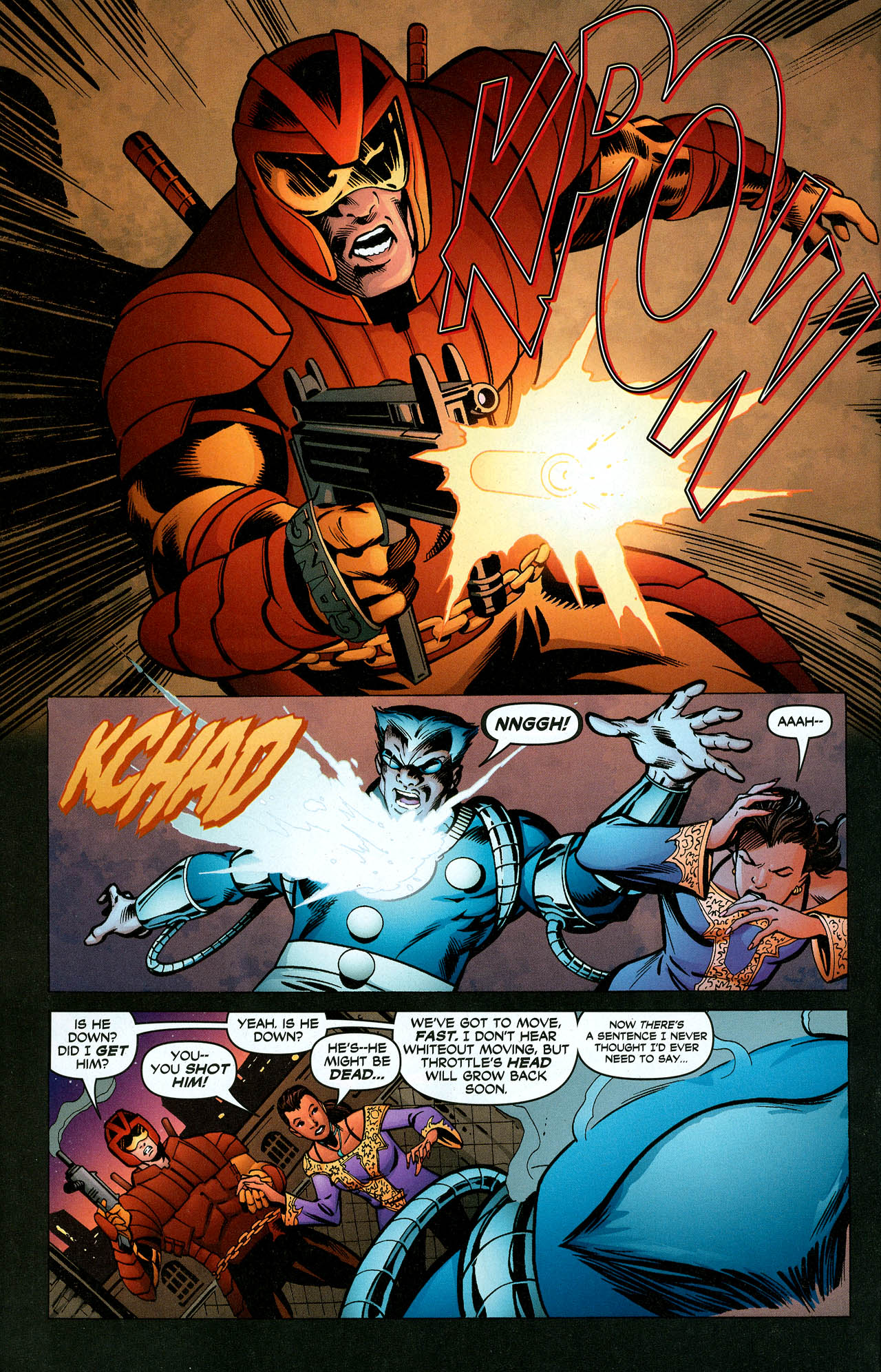 Read online Trinity (2008) comic -  Issue #5 - 31