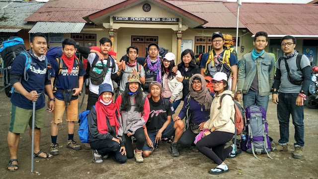 Pendakian Sindoro Via Kledung