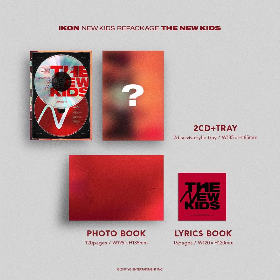 Pre-order iKON NEW KIDS REPACKAGE : [THE NEW KIDS] - iKON