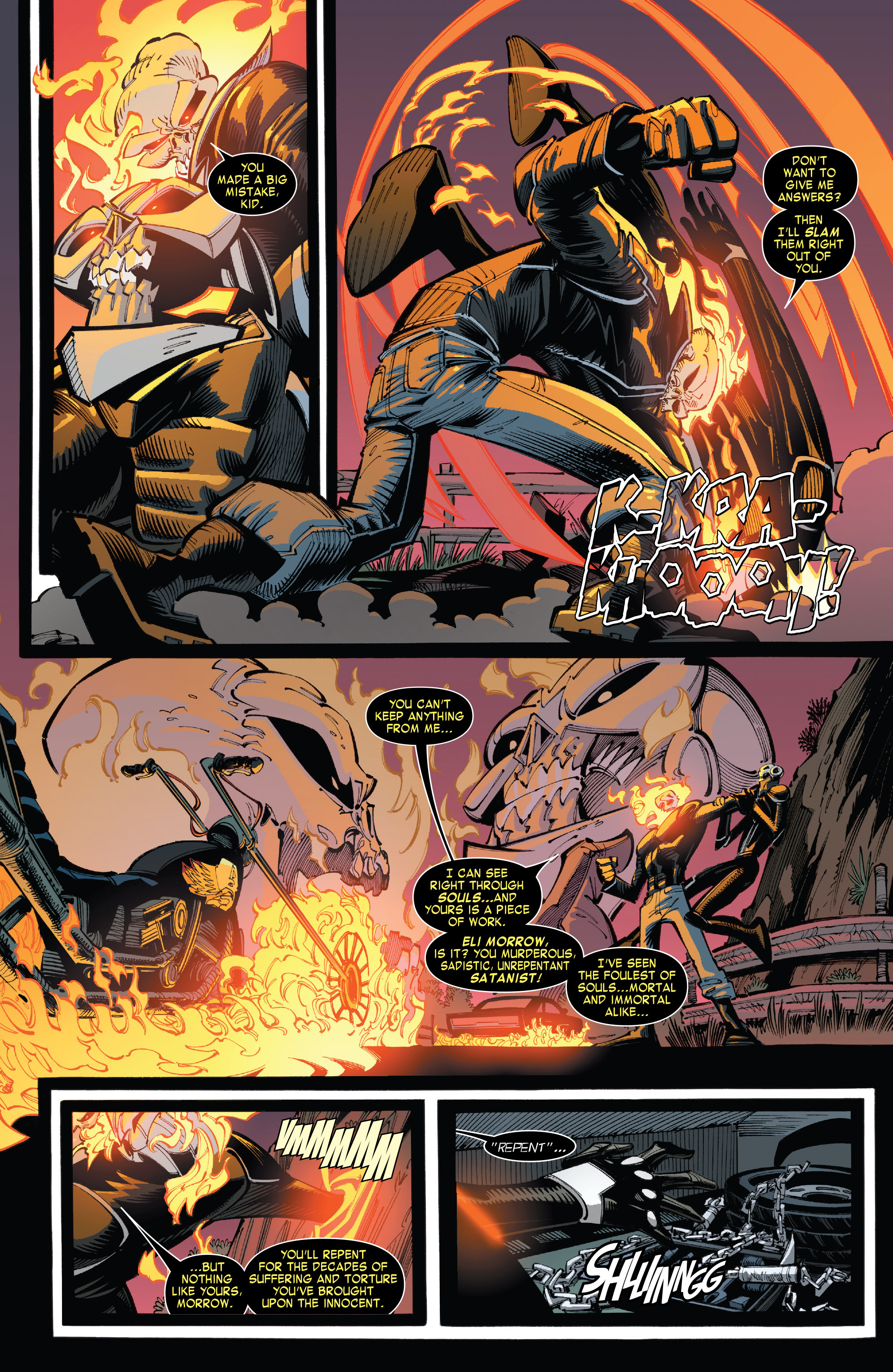 Read online All-New Ghost Rider comic -  Issue #8 - 5