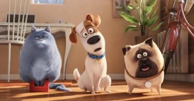 filme animação desenho animado hoje nos cinemas estreia resenha pets a vida secreta dos bichos animais estimação cachorro gata personagens