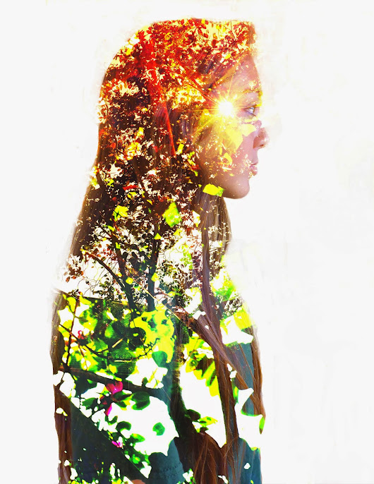 Double Exposed Portraits