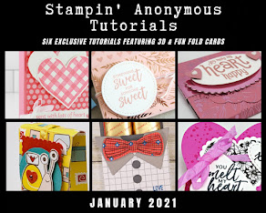 JANUARY STAMPIN'ANONYMOUS TUTORIALS