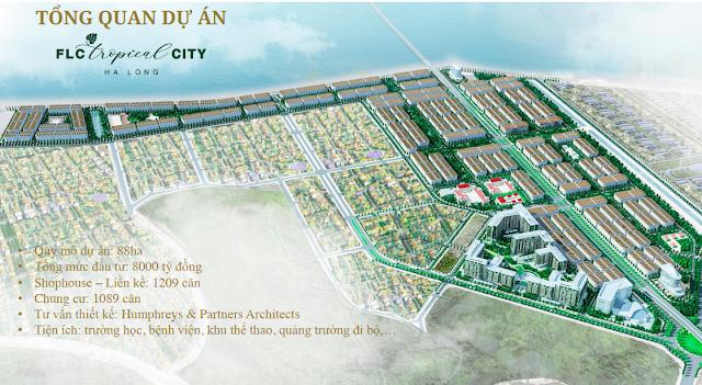 Phối cảnh dự án FLC Tropical City