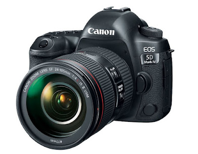 Canon EOS 5D Mark IV with new EF 24-105mm f/4L IS II USM Lens