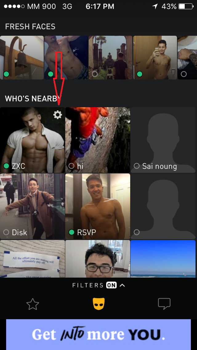 On devices account grindr two Grindr Etiquette