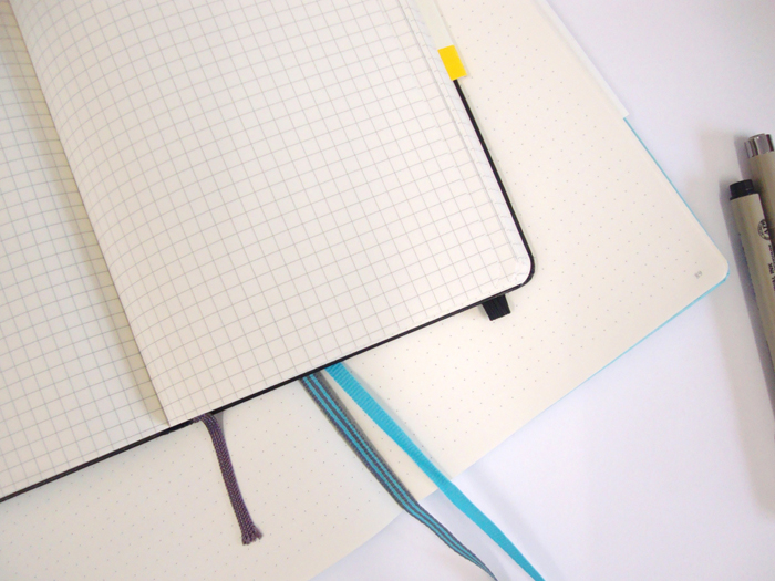 Comparing the Leuchtturm1917 and the Moleskine bullet journal notebooks