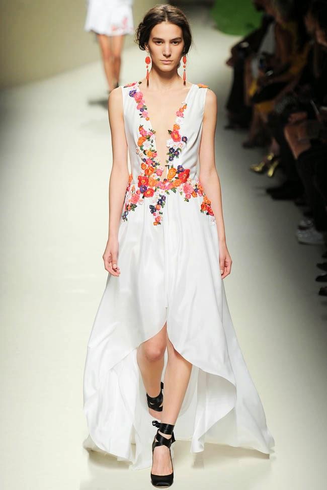 lulabi-handmade flowers-: vestidos de novia con bordados de colores.