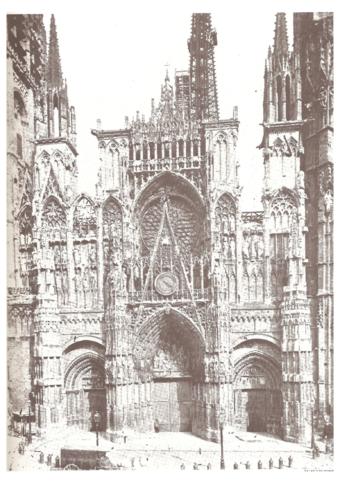 L Histoire De L Art Serie Des Cathedrales De Rouen Perso Claude Monet