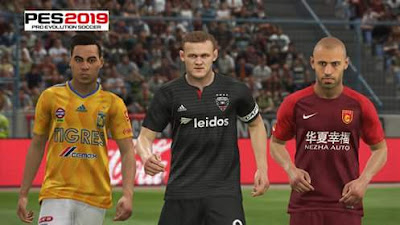 PES 2019 MLS, Liga MX, CSL For PTE 2019 by Sudamerican Patch