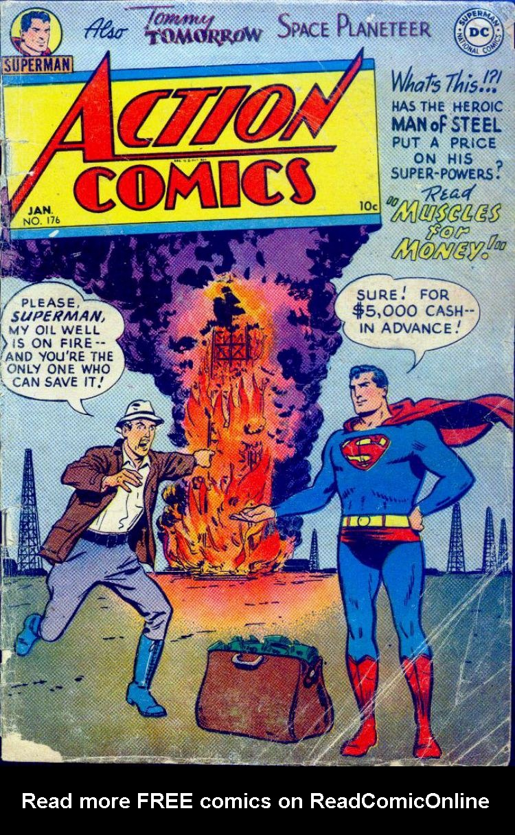 Action Comics (1938) 176 Page 1