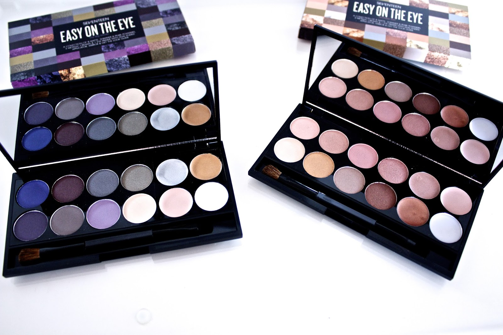 SEVENTEEN Easy On The Eye Palettes - Birthday Suit & The Big Smoke