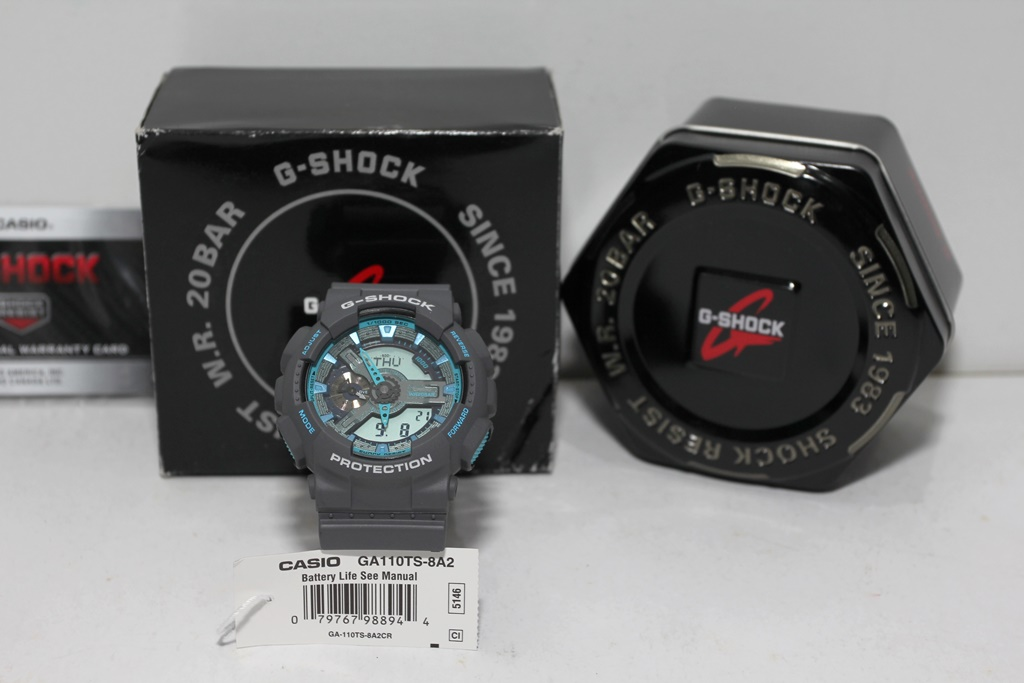 One Inch Time One Inch Gold G Shock Ga 110
