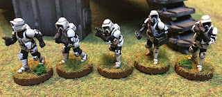 Imperial Scout Troopers from FFG's Star Wars Legion