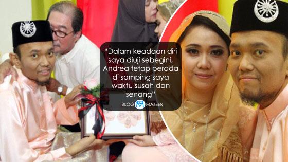 Demi Cinta, Wanita Nekad Peluk Islam Kahwini Lelaki Hidap Kanser Tahap Empat