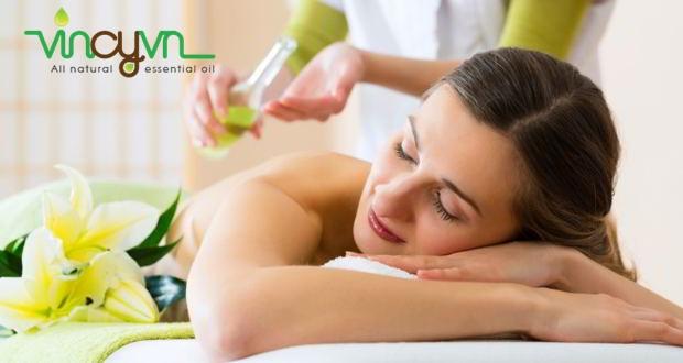 Tinh dầu dùng để massage như thế nào ?