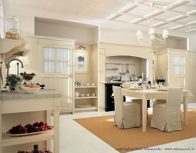 Traditional Kitchen Design Ideas 2012 From Marchi Cucine