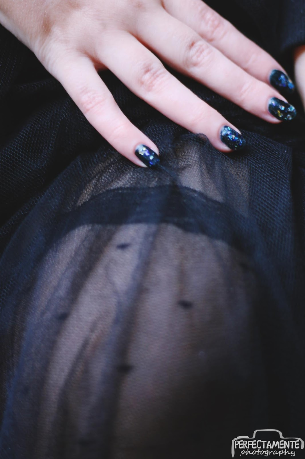 tiulowa spódnica do kostek