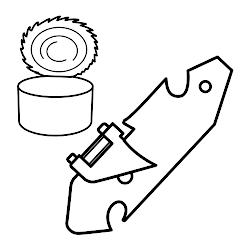 abrelatas colorear dibujos cocina utensilios abrebotellas oggetti disegni imagenes imprimir imagenes chocolate wchaverri haz ampliar disegno stampa letra