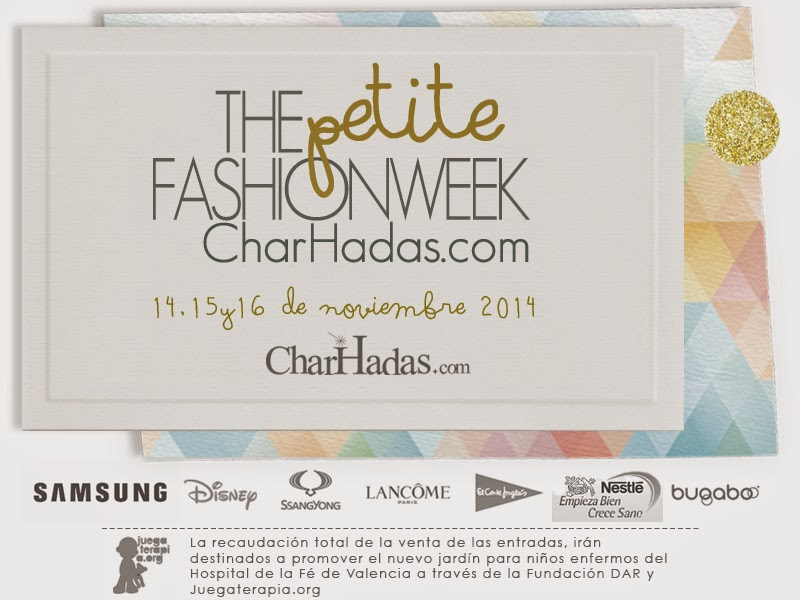 The Petit Fashion Week organizado por CharHadas - blog infantil Mama de Noa