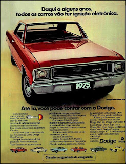 propaganda1974 - linha Dodge Dart 1975, Dodge Dart 1974, chrysler anos 70, carro antigo chrysler, anos 70, década de 70, propaganda anos 70, Oswaldo Hernandez,