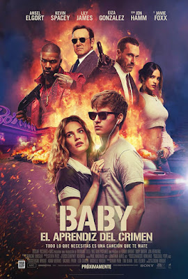 Póster en español de Baby Driver