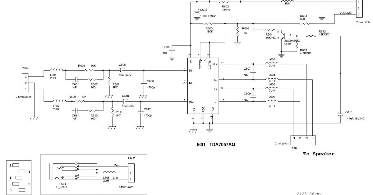 Manguonblog  Aoc Al512  U2013 Aoc Al513  U2013 15 Inch Tft Lcd Monitor  U2013 Circuit Diagram