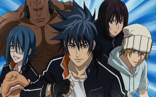 anime genre sport terbaik